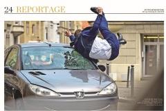 SoKo Stuttgart Car Stunt